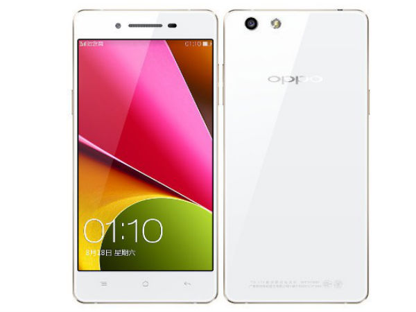 Oppo R1S With 13MP Camera, 5-Inch Display Announced: Specs And Features