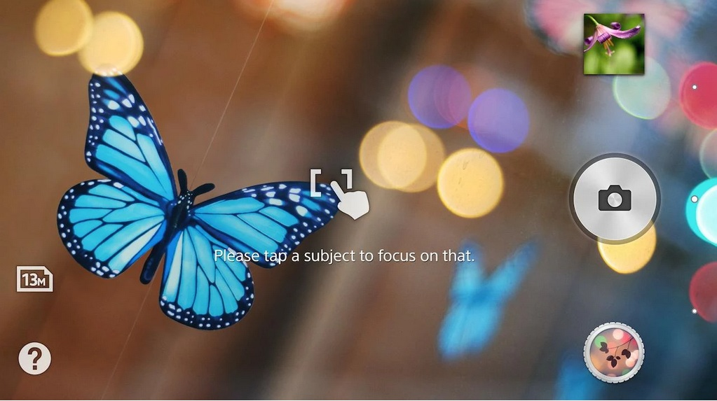 Sony's Background Defocus App For Xperia Smartphones On Google Play Store