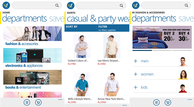 Flipkart's Official App For Windows Platform Launched. Also, Discounts Offered.