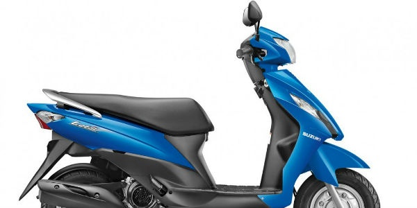 Suzuki 'Let's' 110CC Scooter To Cost Rs. 47000; Book Now For Rs 1000.