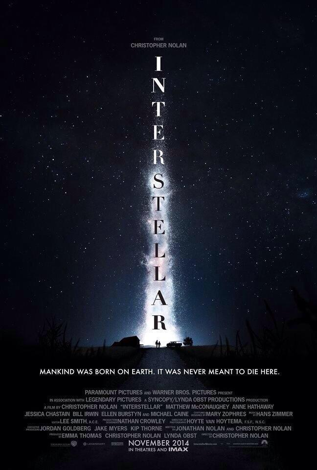 "Movie Poster : ""Interstellar"""
