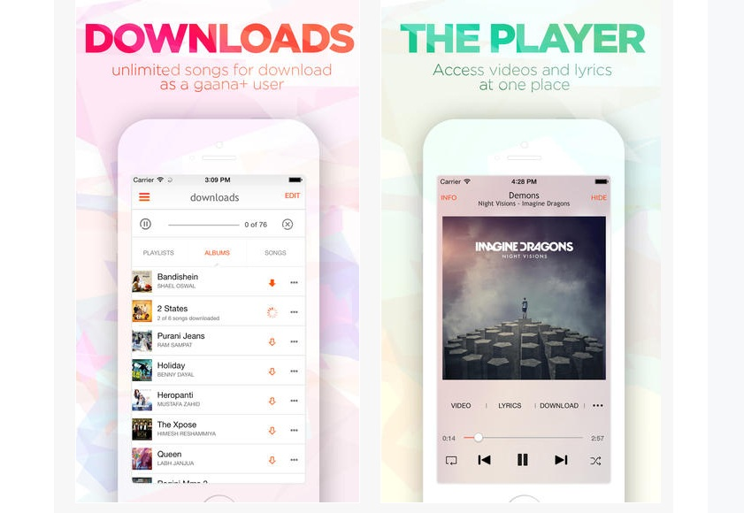 Gaana 4.0 App With Integrated Music Videos, Lyrics Available On Play Store, App Store