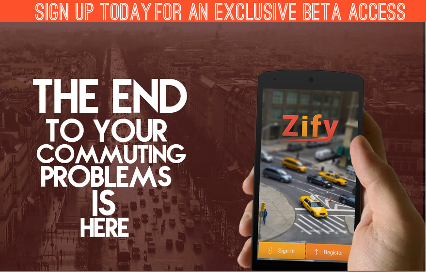 ZIFY – The Mobile App That Can Solve The Rampant Traffic Problem in India
