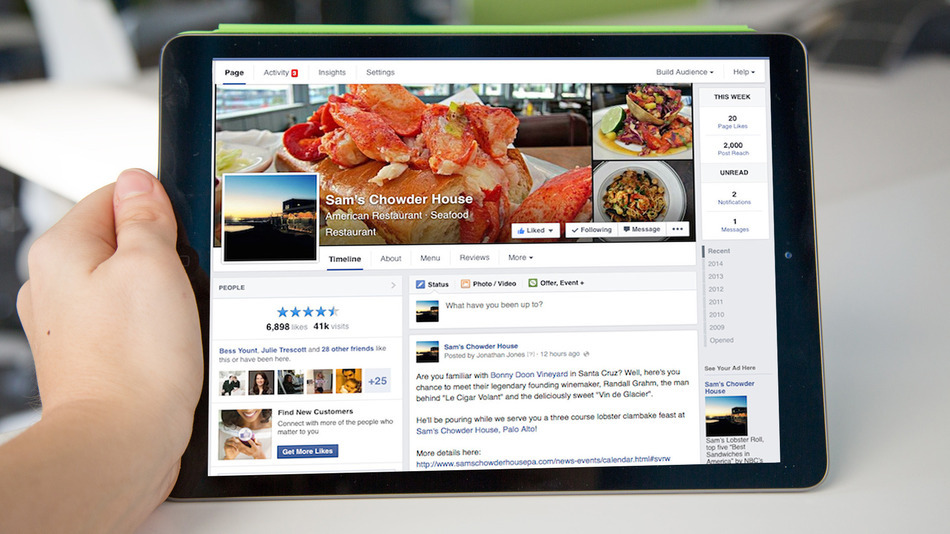 Facebook Redesigns Page Profiles; Adopts Single-Column Timeline