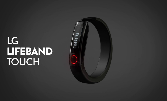 LG LifeBand Touch Fitness Tracker – Soon In India