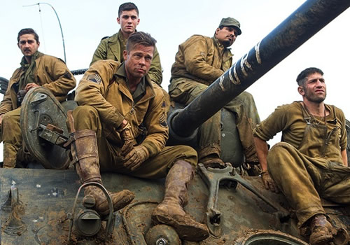 Watch 'FURY' Trailer – Brad Pitt Goes All Badass On Nazis Yet Again