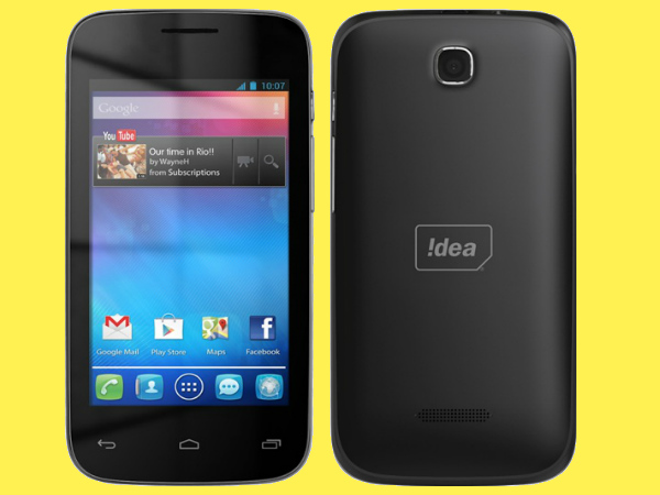 IDEA ID 4000 3G Budget Smartphone With Dual-Core CPU Launched For Rs 4,999/-