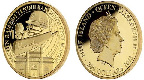 East India Company Issues Gold Coin to Honour Sachin Tendulkar