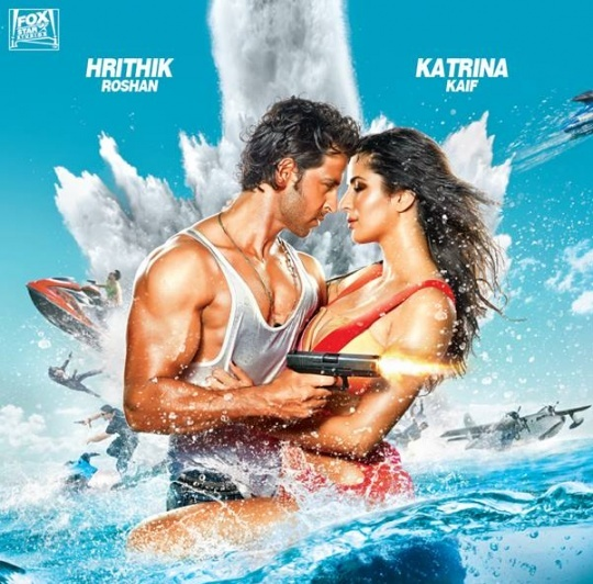 Bang Bang | First Look – Hrithik And Katrina Look Sizzling Hot