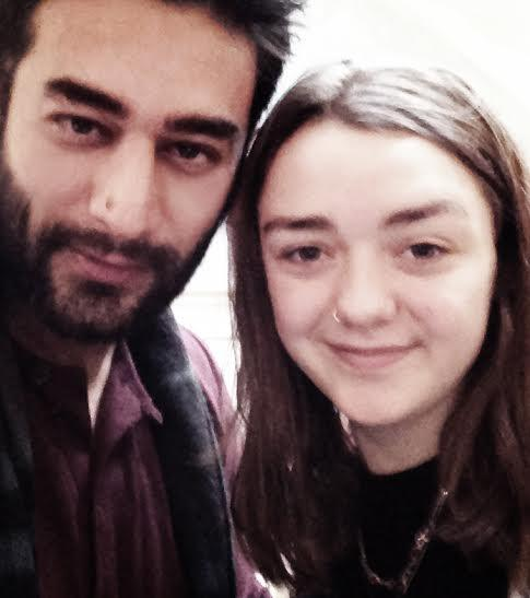 When Shekhar Bumped Into Arya Stark