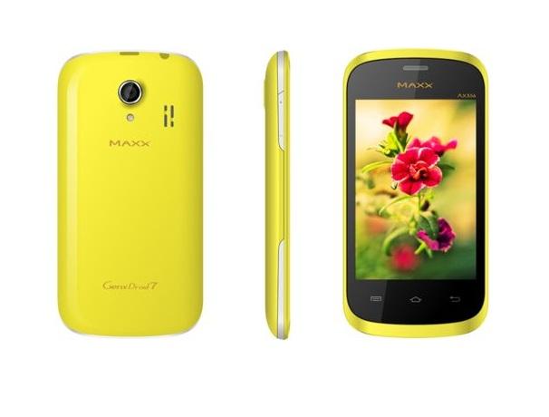 Maxx Mobile AX356 GenxDroid