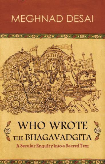 Who Wrote The BhagavadGita Meghnad Desai