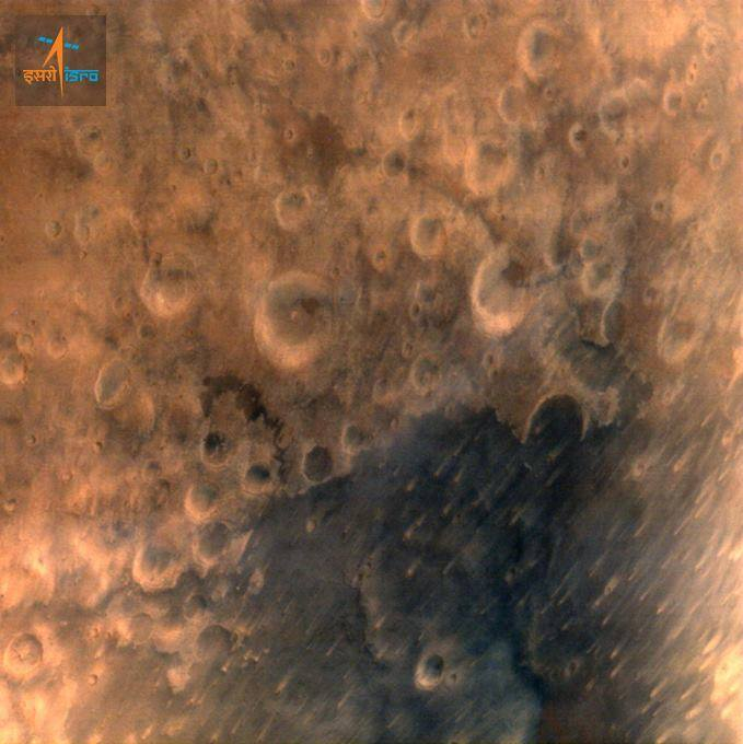 ISRO Mars Orbiter Mission First Image Of Mars - Mangalyaan