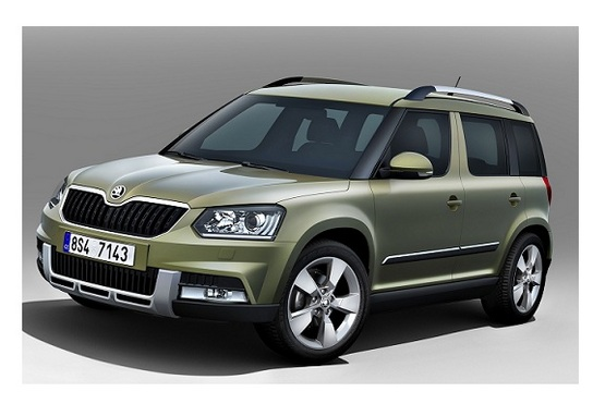 Upgraded Skoda Yeti Launched. The Premium Compact SUV To Cost Rs. 18.63 Lakhs.