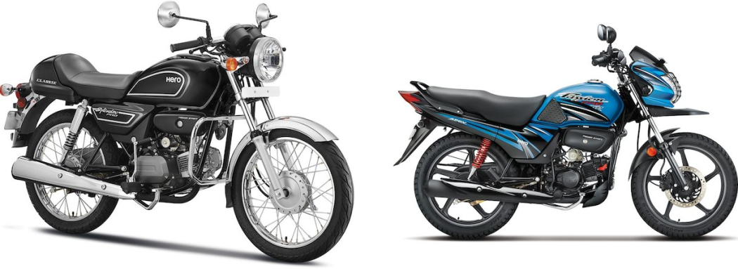 Hero Splendor Pro Classic And Passion Pro TR Launched In India