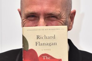 Man Booker Prize 2014 Winner : Richard Flanagan For 'The Narrow Road to the Deep North'