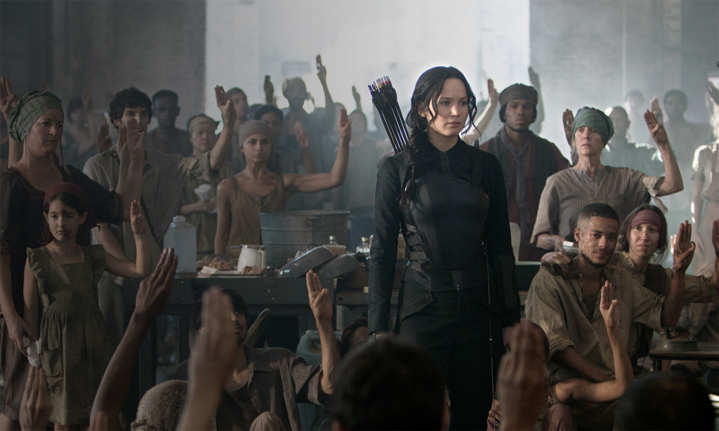 Katniss hunger games mockingjay part 1
