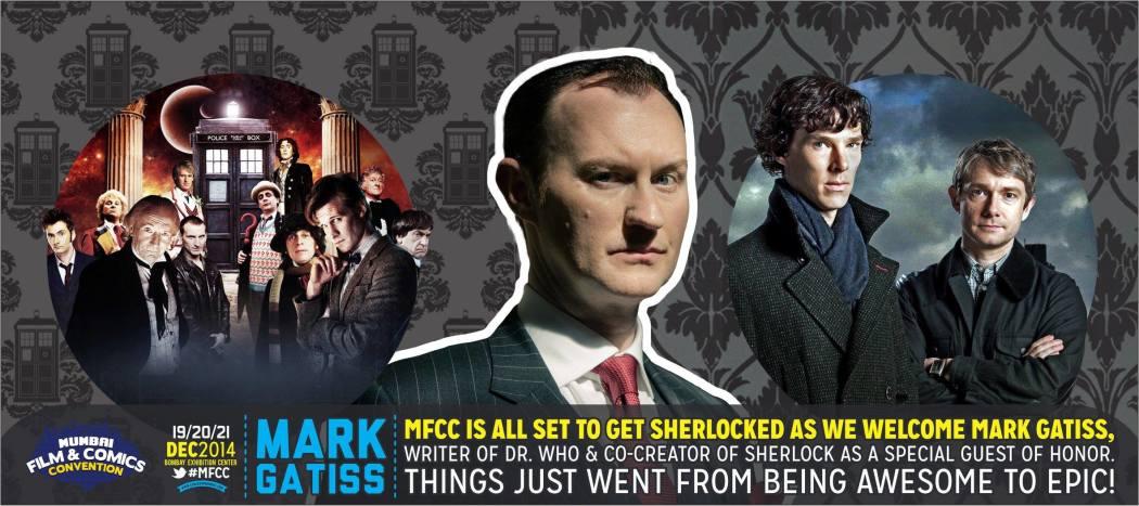 Mark Gatiss Comic Con Mumbai