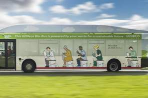 Human Poop Gas-Powers This 'Bio-Bus' In UK. All Aboard, Fellas.