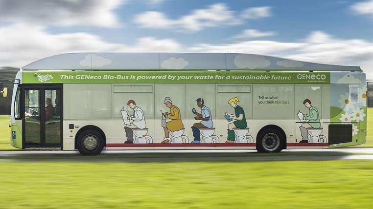 Human Poop Gas-Powers This 'Bio-Bus' In UK. All Aboard, Fellas.