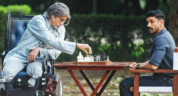 Teaser of 'Wazir' starring 'Farhan Akhtar' , 'Amitabh Bachchan' and the director of 'Shaitan'