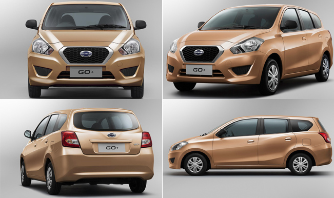Datsun Go+ MPV India Launch On January 15, 2015