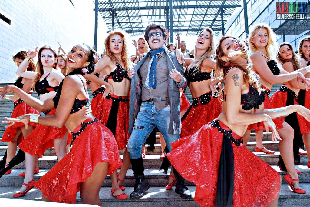 Actor Rajinikanth in Lingaa Movie Stills