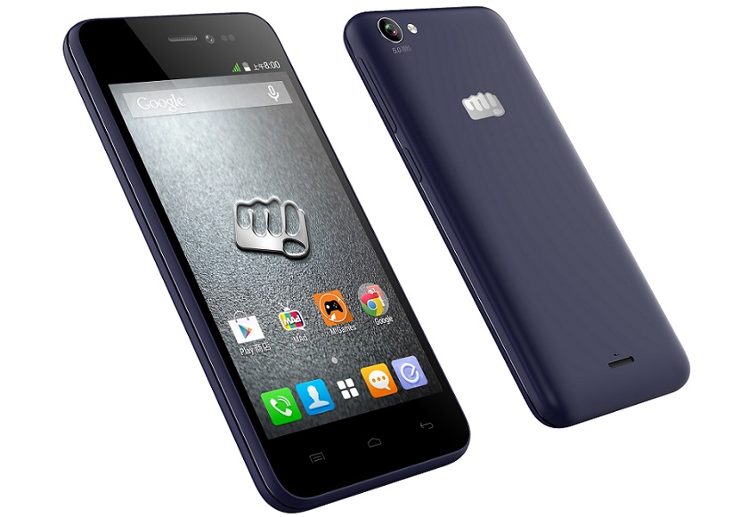 Micromax Canvas Pep Launched For Price Rs.5999: Quad-Core CPU, 5MP Camera