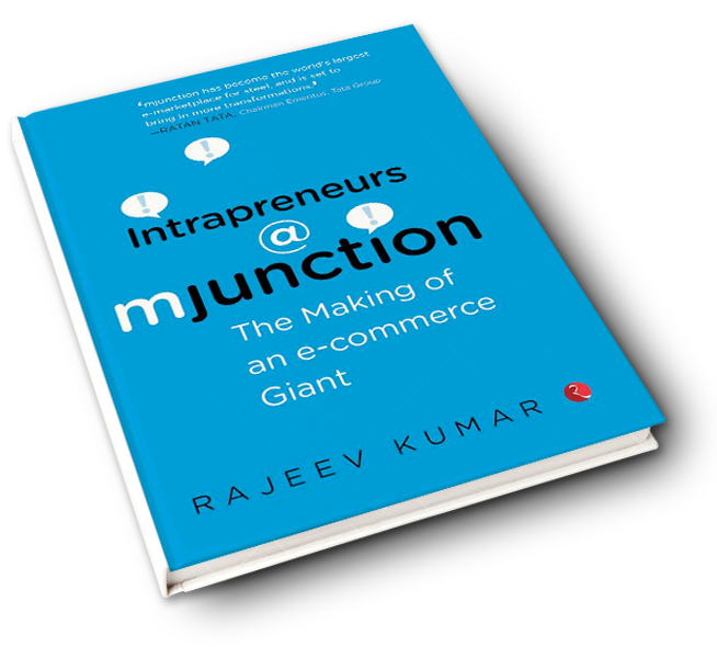 'Intrapreneurs @ mjunction' By Dr. Rajeev Kumar | Book Review
