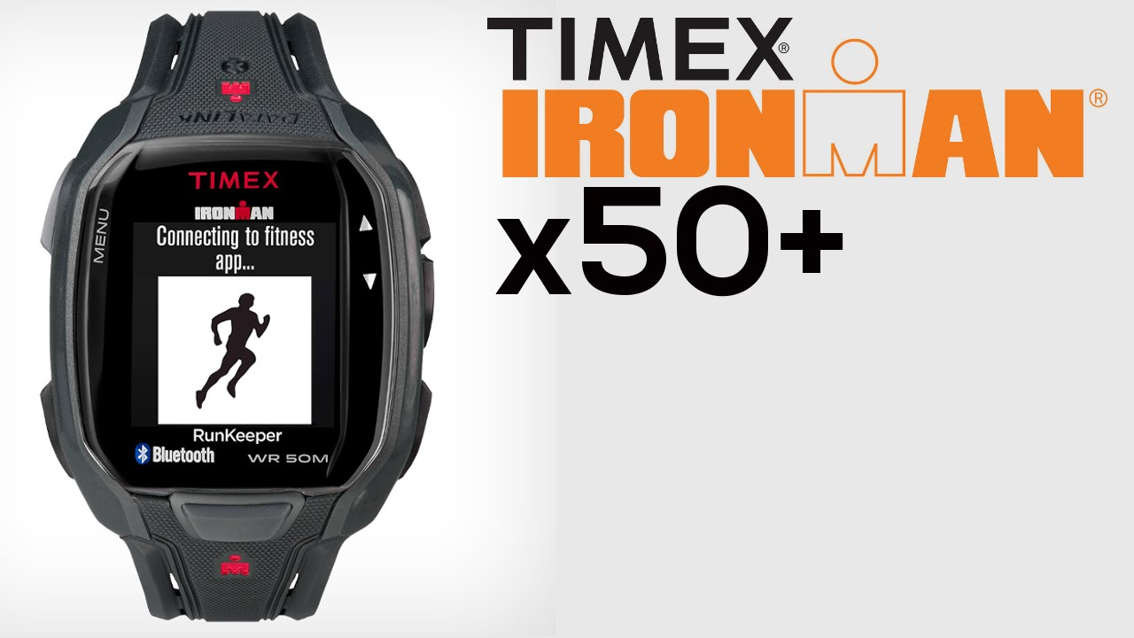 Timex IRONMAN Run x50+ Smartwatch Cum Fitness Tracker Launched