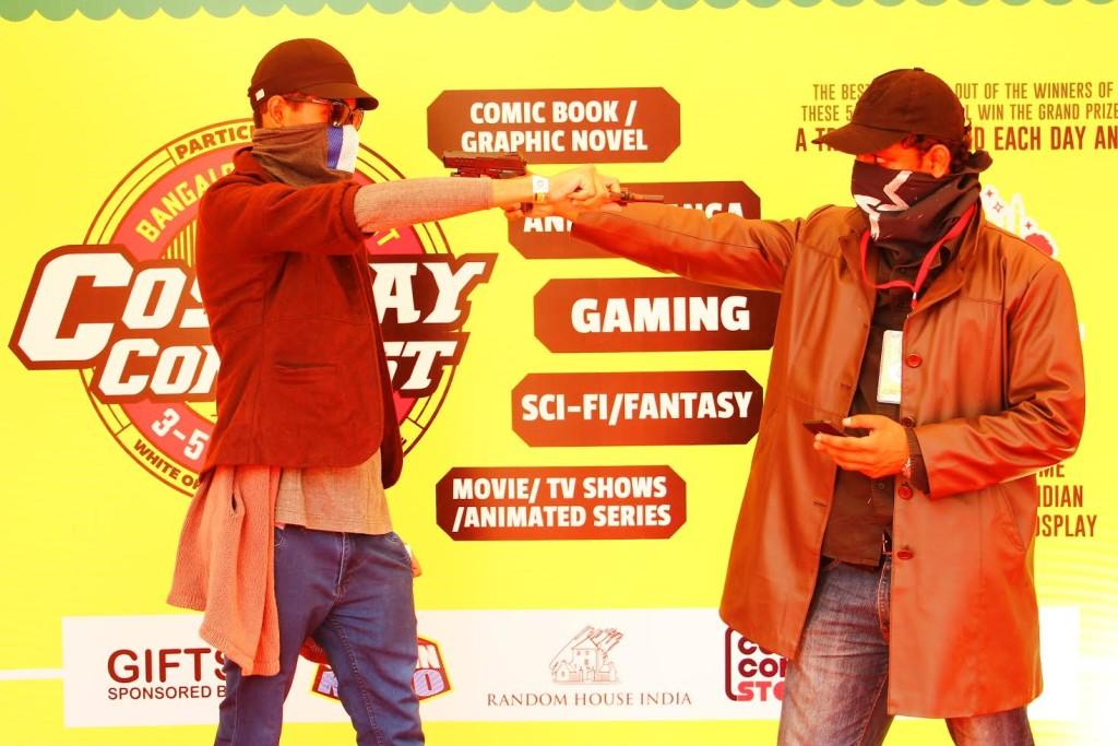 cosplay bangalore comic con 2