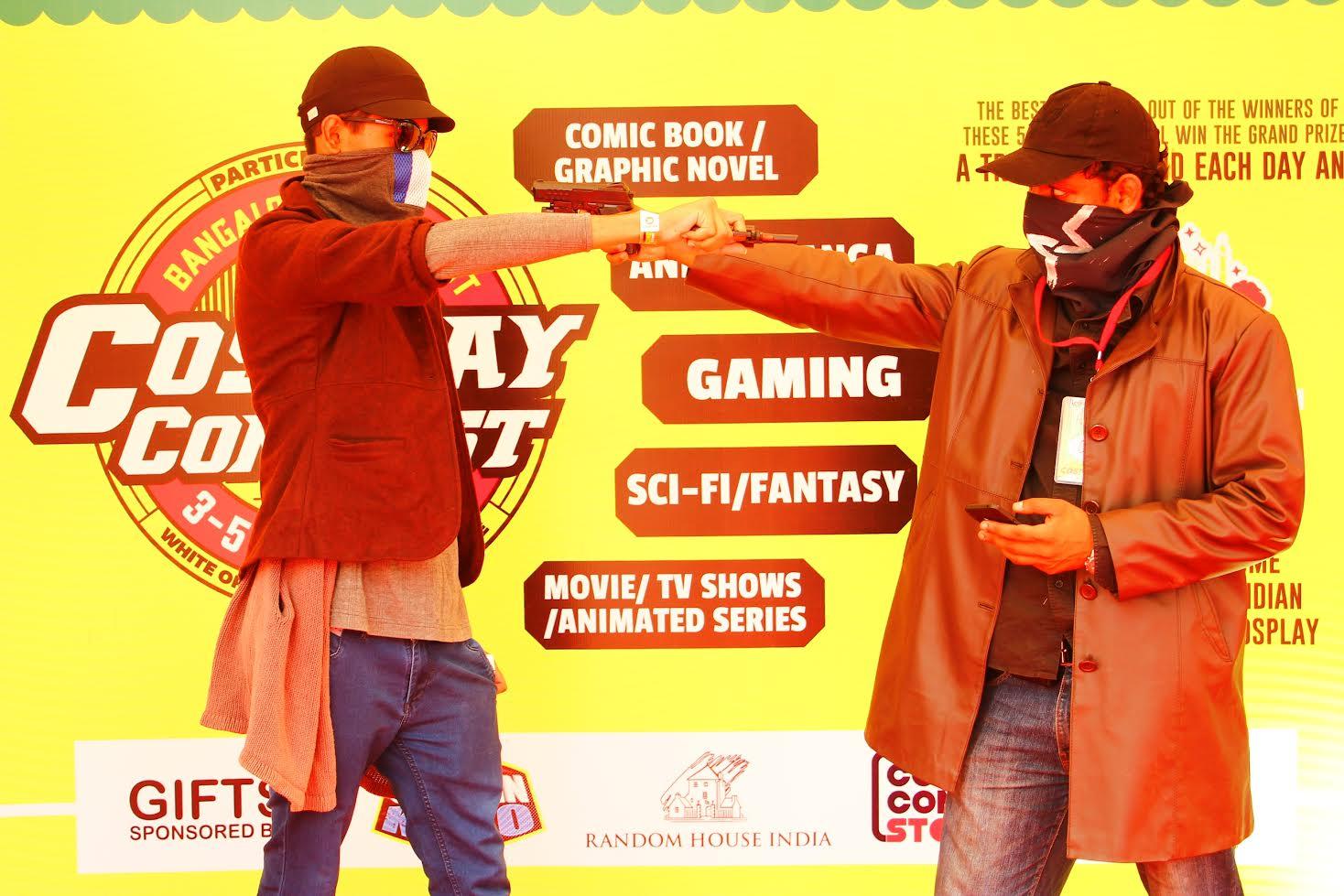 Bangalore Comic Con   Press Note   Day 1