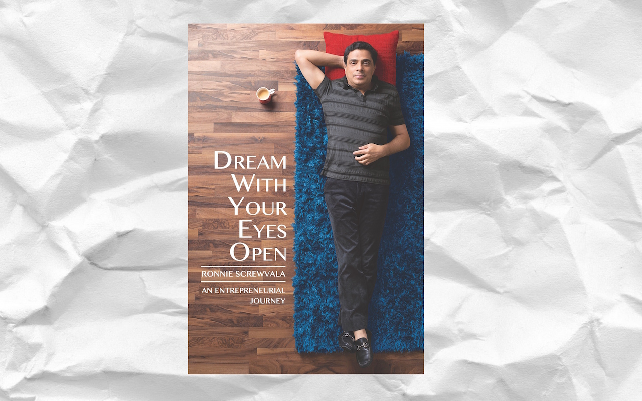 'Dream With Your Eyes Open' by Ronnie Screwvala | Book Review