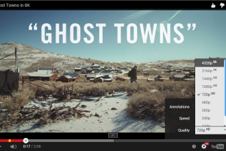 ghost towns 8k video