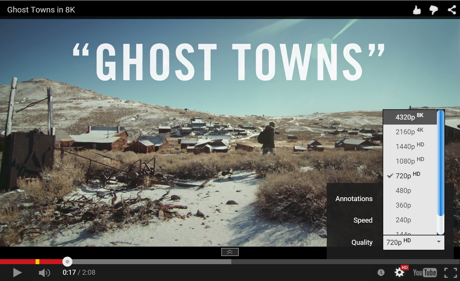 This 8K YouTube Video 'Ghost Towns' Is Too Awesome For Your Computer To Handle