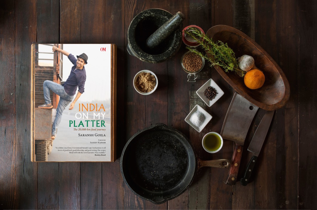 'India On My Platter' by Saransh Goila | Book Review