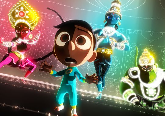 sanjays syper team pixar short film