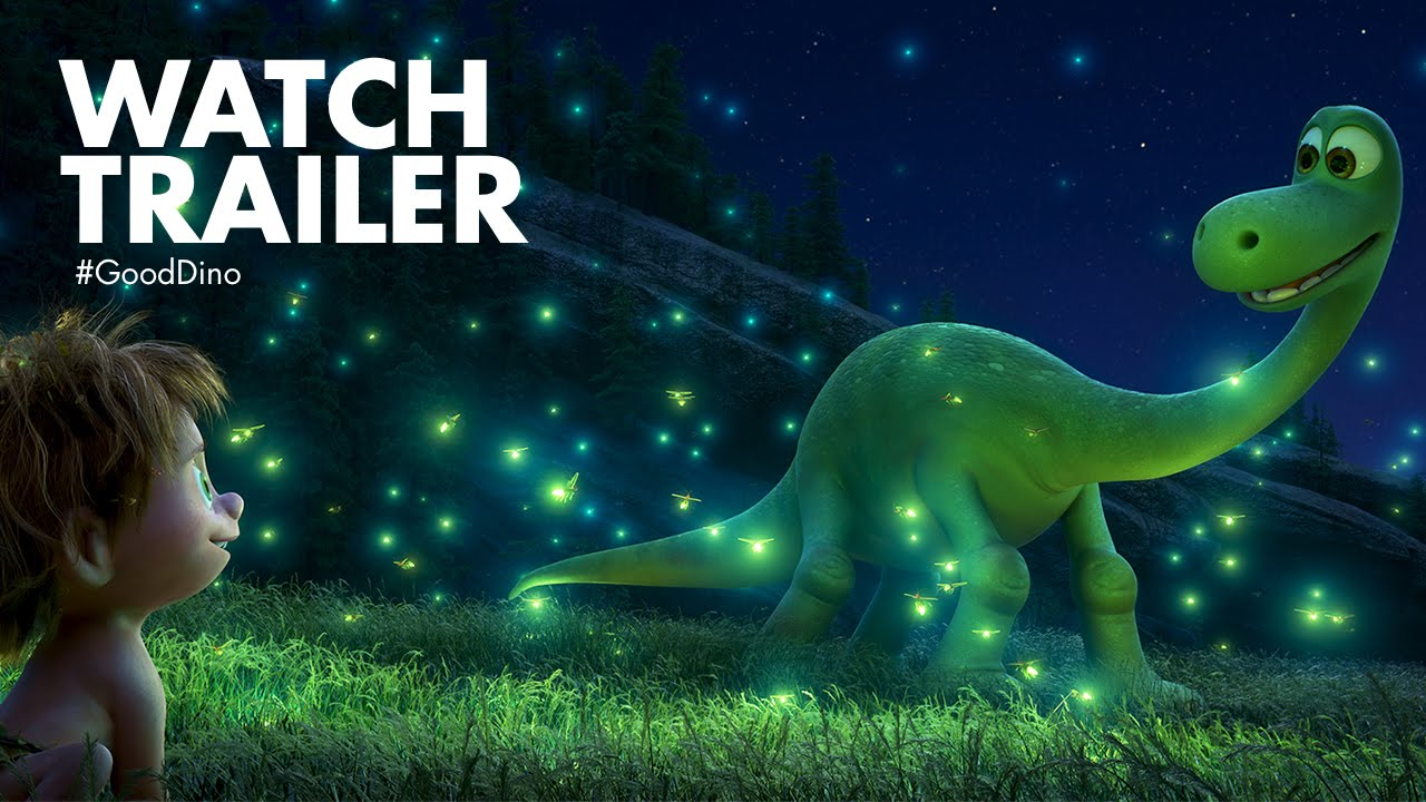 Watch : Disney-Pixar's Awesome Trailer of 'The Good Dinosaur'