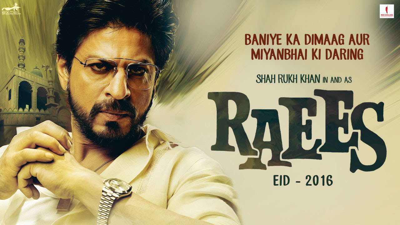 Watch : Power and charisma exude in the first teaser of 'Raees' starring Shah Rukh Khan