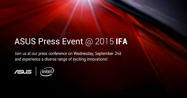ASUS IFA 2015 Event Scheduled For September 2 – New Smartphone and Smartwatch Expected