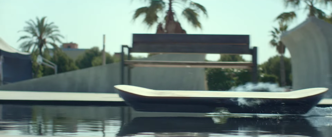 Lexus 'Back To The Future' Hoverboard Is Here, And It Works!