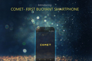 World's First Buoyant Smartphone 'The Comet' Is Up For Pre-Order On Indiegogo