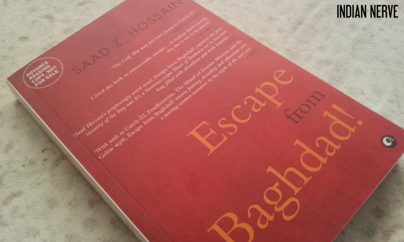 escape from baghdad saad hossain