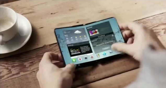 Samsung Project Valley – The Company's First Foldable Smartphone May Arrive January 2016