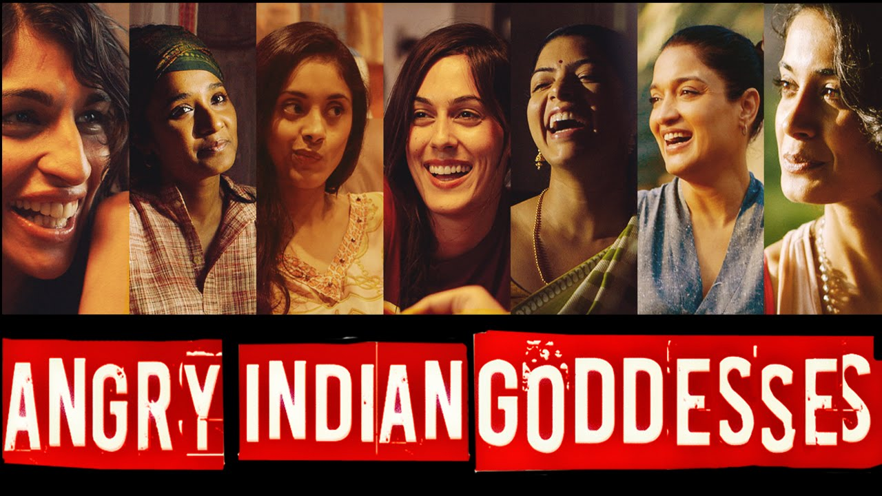angry indian godesses poster