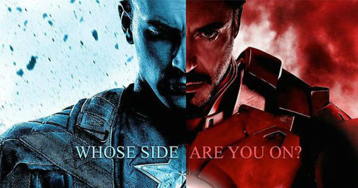 "Watch Marvel's ""Captain America: Civil War"" Trailer And Kickass Posters Featuring Captain America Vs Iron Man"