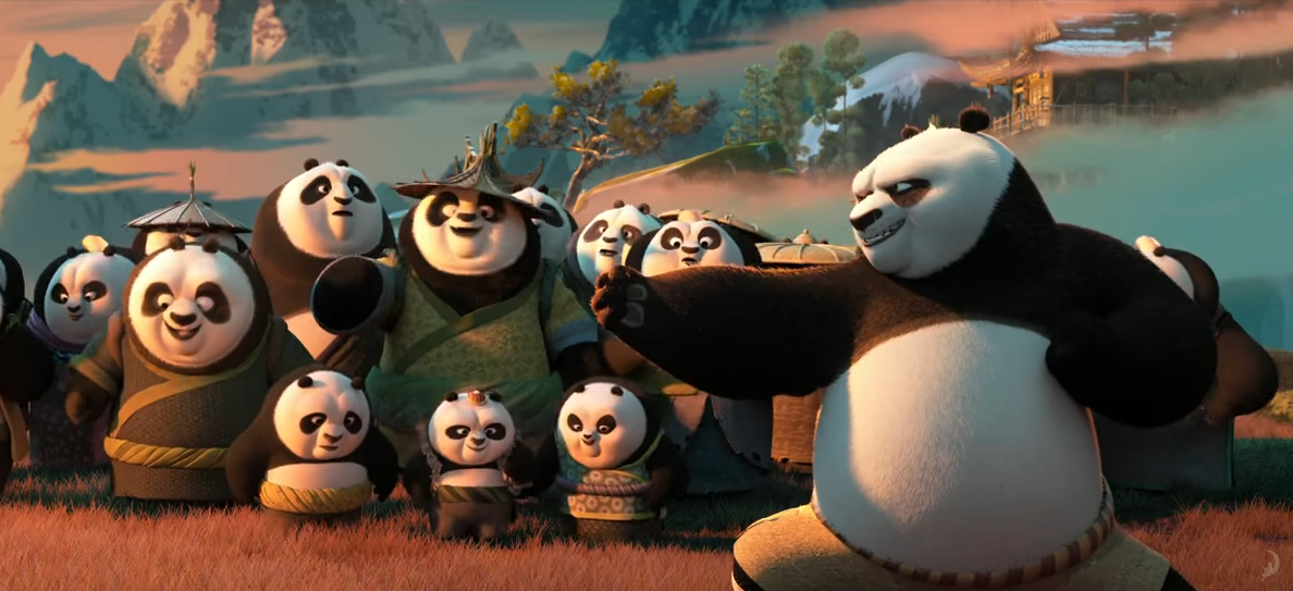 'Kung Fu Panda 3' Trailer #2 Celebrates Family Reunion; Reveals More Of Panda Paradise.