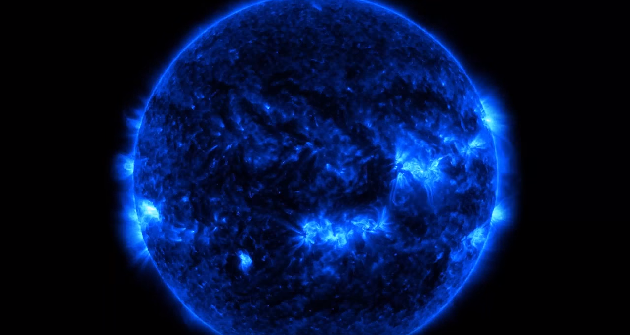 NASA sun 4k indian nerve