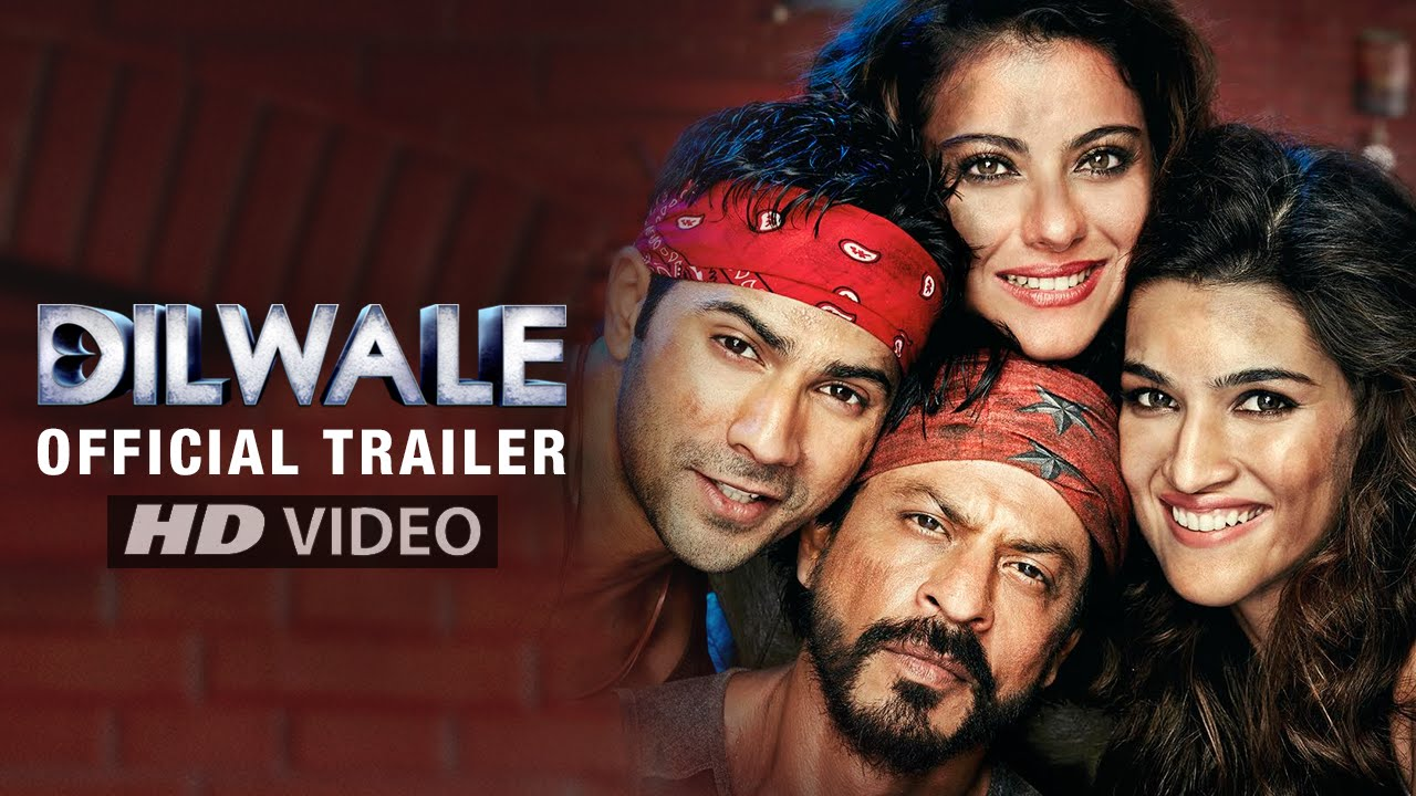 Trailer Of Rohit Shetty's 'Dilwale' Starring Shah Rukh Khan, Kajol Varun Dhawan and Kriti Sanon Is Out
