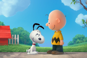 SNOOPY AND CHARLIE BROWN THE PEANUTS MOVIE 1